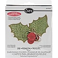 Sizzix Bigz BIGkick/Big Shot 'Holly and Berries No. 2' Die withTextured Impressions