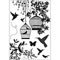Kaisercraft 'Hummingbird' Clear Stamps