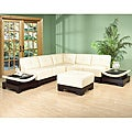 6-piece Leather Sectional Set