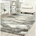 Safavieh Deco Inspired Grey/ Ivory Rug (5' x 8')