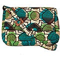 Wax Print Geometric Flower Messenger Bag (Rwanda)