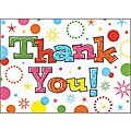 Party Time Thank You Cards and Envelopes (Pack of 20)
