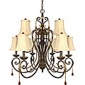 Nuvo Lighting &#39;Cortina&#39; 9-light Dune Gold Chandelier
