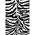 Generations Black Zebra Rug (5&#39;2 x 7&#39;2)