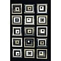 Generations Black Blocks Rug (5'2 x 7'2)