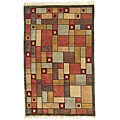 Hand Knotted Melody 669 Multi Wool Rug (5' x 8')