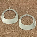 Handcrafted Alpaca Silver 'Cut Out' Dangle Earrings (Mexico)