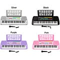 Children's 49-key Musical Electronic Keyboard and Microphone