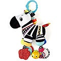 Bright Starts Start Your Senses Zebra Plush Pal