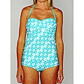 Jag Women&#39;s Geometric Print Bandeau Tankini