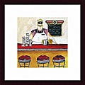 Jennifer Garant 'Today's Specials' Framed Print