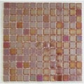 Viridian 'Pearl Nutmeg' 1-in. Recycled Glass Tiles (pack of 15)