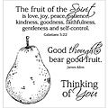 Inky Antics 'Holy Spirit's Fruit' Clear Stamp Set