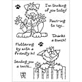 Inky Antics 'Delightful Dogs #3' Clear Stamp Set