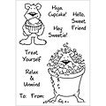 Inky Antics 'Pampered Benton' Clear Stamp Set