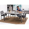 Rachel Granite Finish 7-piece Dining Set