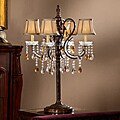 ETHAN HOME Clarissa Tea Crystal Table Lamp