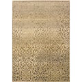 Sydney Beige/ Tan Transitional Area Rug (9&#39;9 x 12&#39;2)