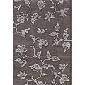 Solano Gray/ Gray Transitional Area Rug (10&#39; x 13&#39;)