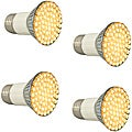 Infinity Green LED Warm White Ultra Flood Light Bulb (Set of 4)