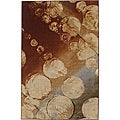 New Wave Rain Multi Rug (5&#39; x 8&#39;)