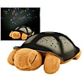 Constellation Night Light Brown Turtle with Music