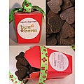 Bone Bons Small One-inch Organic Doggie Chocolate Heart Treats