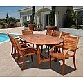 Riviera 9-piece Oval Dining Set