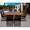 Cosmopolitan 9-piece Square Dining Set