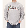 Stitches Men's Miami Marlins Thermal Shirt