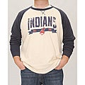Stitches Men&#39;s Cleveland Indians Raglan Thermal Shirt