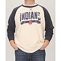 Stitches Men's Cleveland Indians Raglan Thermal Shirt