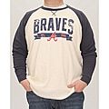 Stitches Men&#39;s Atlanta Braves Raglan Thermal Shirt