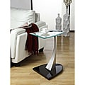 ETHAN HOME Ryde U-shaped Tempered Glass Steel Modern End Table