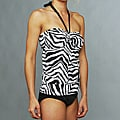 Jantzen Black and White Tankini