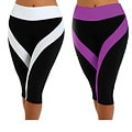 Fajate Women&#39;s &#39;Sol&#39; Fitness Capri Leggings