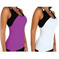Fajate Women&#39;s &#39;Sol&#39; Racer Back Fitness Tank Top