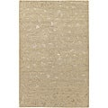 Hand-knotted Wool and Art Silk Area Rug (9' 6 x 13' 6)