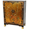 Oriental Home Gold Leaf Nestling Birds Cabinet (China)