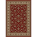 Ariana Palace Red Area Rug (3' 11 x 5' 3)