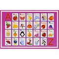 Kid's Rugs Non-Skid Alphabet Dreamy 4'6 x 6'1