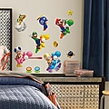 Nintendo Super Mario Peel and Stick Wall Decals