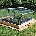 Palram Cold Frame Double 3' x 3' Mini Greenhouse