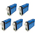Epson T124100 T124 Black Ink Cartridges (Pack of 5) (Remanufactured)