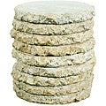 Outdoor Stone Stack Occasional Table