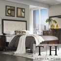 Tribecca Home Cumbria White Bonded Leather King-size Storage Plateform Bed