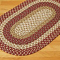 Gourmet Red Multi Accent Rug (5&#39; x 8&#39;)