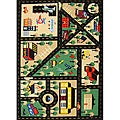 Kids' Non-Skid Town Roads Rug (3'3 x 4'7)