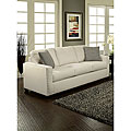 Neveah Ivory Contemporary Sofa