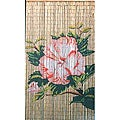 Lotus Flower Bamboo Curtain (Vietnam)